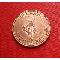 31-39 Гибралтар, 2 пенса 2004 г.