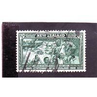 Новая Зеландия.Ми-253.Столетие Новой Зеландии. Прибытие племени Маори. 1940.