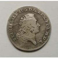 2 злотых, 8 грошей 1767 Станислав Август R