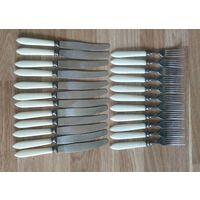 Вилки,ложки,ножи столовые СССР 57 предметов сборный лот