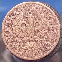 1 грош 1936 (w) Польша бронза