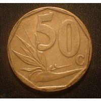 Южная Африка. ЮАР. 50 центов 2008 год