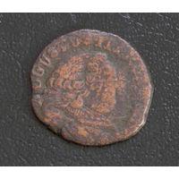 Полугрош 1754 с рубля