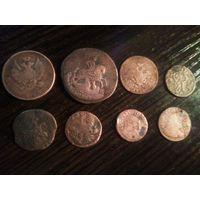 Монеты сборный лот
