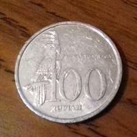 100 рупий, Индонезия 1999 г.