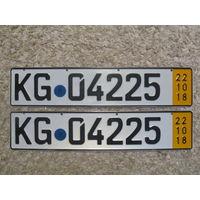 Автомобильный номер Германия KG04225