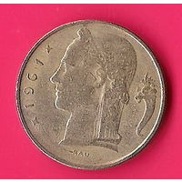 40-27 Бельгия, 5 франков 1961 г.