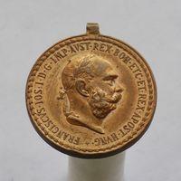 Австро-венгерская бронзовая медаль воинских заслуг SIGNUM LAUDIS (ЗНАК ПОХВАЛЫ)