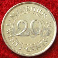7552:  20 центов 1994 Маврикий