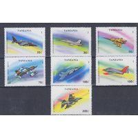 [1908] Танзания 1993. Авиация.Самолеты.