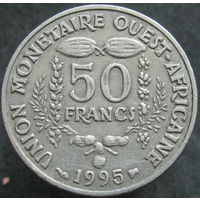 Западная Африка 50 франков 1995 ФАО