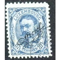 Герцог Уильям IV. Люксембург. Дата выпуска:1908