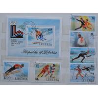 Либерия 13 зимние Олимпииские игры