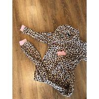 Кугурами леопард флис 7-8 лет