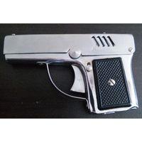 "Зажигалка-пистолет - фонарик "" Aurora -45"" ,бензиновая. Цена снижена !"
