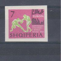 [758] Албания 1963.Спорт.Бокс.