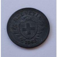 Швейцария 1 раппен, 1942 7-5-29