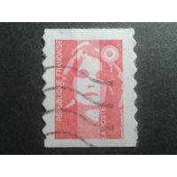 Франция 1993 стандарт, самоклейка