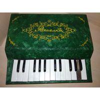 Электронное пианино Вясёлка