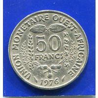 Западная Африка 50 франков 1976
