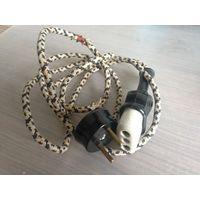 Сетевой кабель от советского бытового прибора
