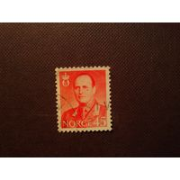 Норвегия 1958 г.Король Олав V.