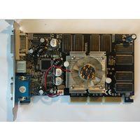 Видеокарта,AGP 8x Galaxy GeForce FX 5500 128 Mb 128 bit CRT/TV/DVI