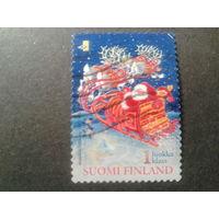 Финляндия 2001 Рождество полная