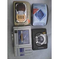 Плееры кассетные одним лотом бу на зп