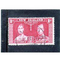 """Новая Зеландия. Ми-232. Серия """"Коронация"""".  1937."""
