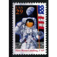 США 1994. 25-летие первой высадке на Луне