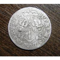 Шесть грошей 1684 г.