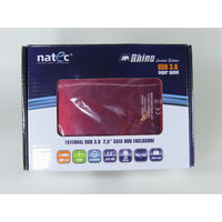 "2.5"" HDD External Case (Внешний бокс) для 2.5"" винчестеров SATA Natec Rhino Limited Edition USB 3.0! Алюминий!"