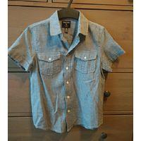 Лот рубашек р.128-134