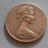 2 цента, Австралия 1972 г.