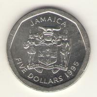 5 долларов 1995 г.