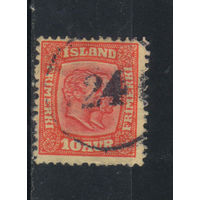 Дания Исландия Владение 1907 Христиан IX и Фредерик VIII Стандарт #53