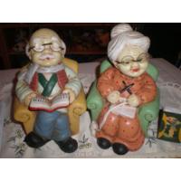 Копилки  Фигурки Бабушка с Дедушкой 11*17см.Рождественское предложение!