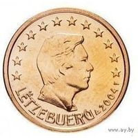 1 евроцент 2004 Люксембург UNC из ролла