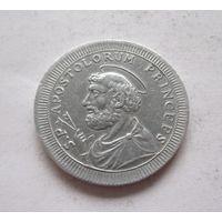 Ватикан Папская область 2 1/2 байоччи 1796 - копия, алюминий