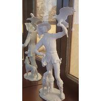 Коллекционная Фарфоровая статуэтка Соколиная Охота KAISER Porzellan Германия