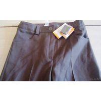 НОВЫЕ брюки школьные коричневые для девочки, 158 рост