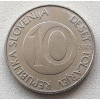 10 толаров 2005 Словения