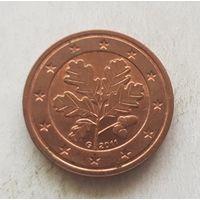 2 евроцента 2011 Германия G