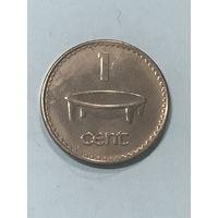 1 цент, 1999 г., Фиджи
