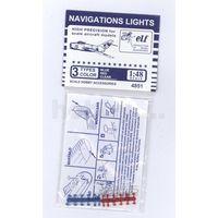 ELF F4851 Навигационные огни, 12х3 шт. Синие, красные, прозрачные.