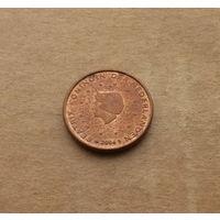 Нидерланды, 1 евроцент 2004 г.