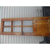 Дверное полотно из массива сосны