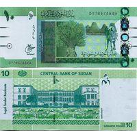 Судан. 10 фунтов 2017. [UNC]