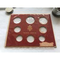 Ватикан обложка под набор монет 1965
